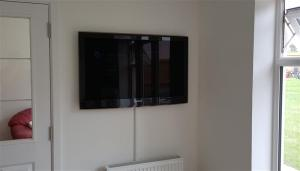 Samsung TV wall mounted