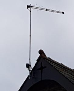 Freeview aerial in USK
