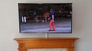 TV Above a fire place (Custom)